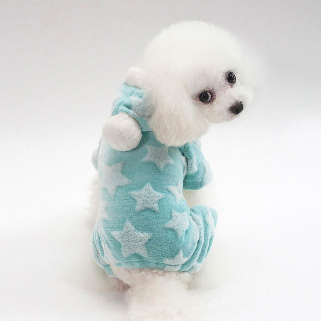 Speckled Fleece Winter Coats For Small Dogs