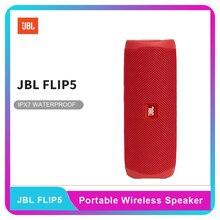 Altavoz JBL Flip 5 con Bluetooth, Mini portátil IPX7, inalámbrico, resistente al agua, estéreo, para música, carga USB, Soporte múltiple