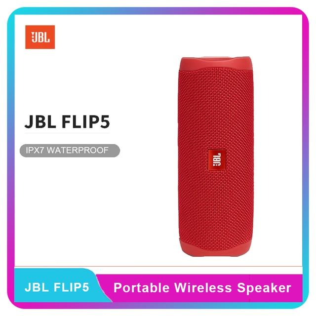 JBL Flip 5 Bluetooth Speaker Mini Portable IPX7 Waterproof Wireless Outdoor Stereo Bass Music USB Charging Multiple Support