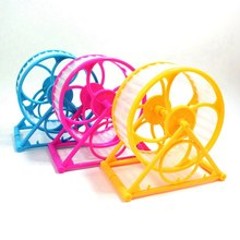 Pet Hamster Exercise Wheel Hamster Mouse Running Wheel Toy Small Animals Cage Accessories Pet Hamster Toy(China)