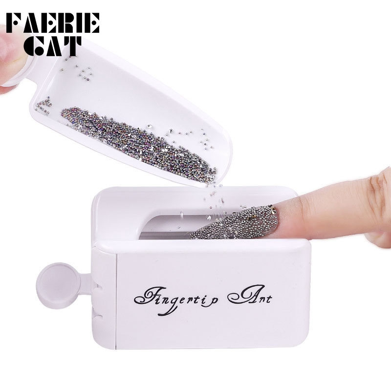 Nail Tool Double Layer French Recycling Powder Box Dipping Powder Collection Container Manicure Glitter Powder Recovery Storage