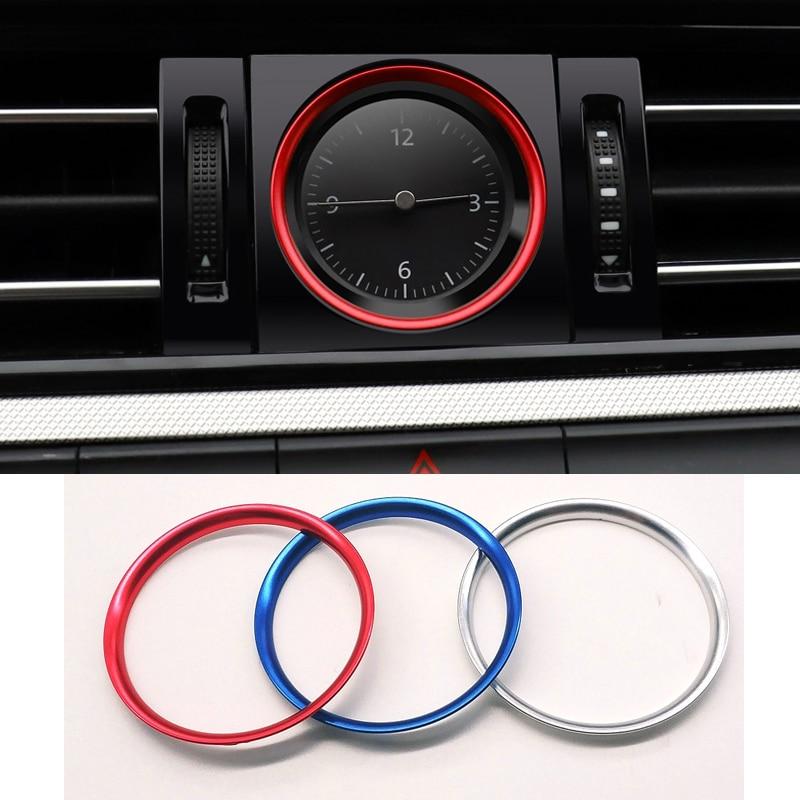 Inner Wheel Center Logo Ring Blue Cover Trim For VW Passat Variant B8 2017 2018