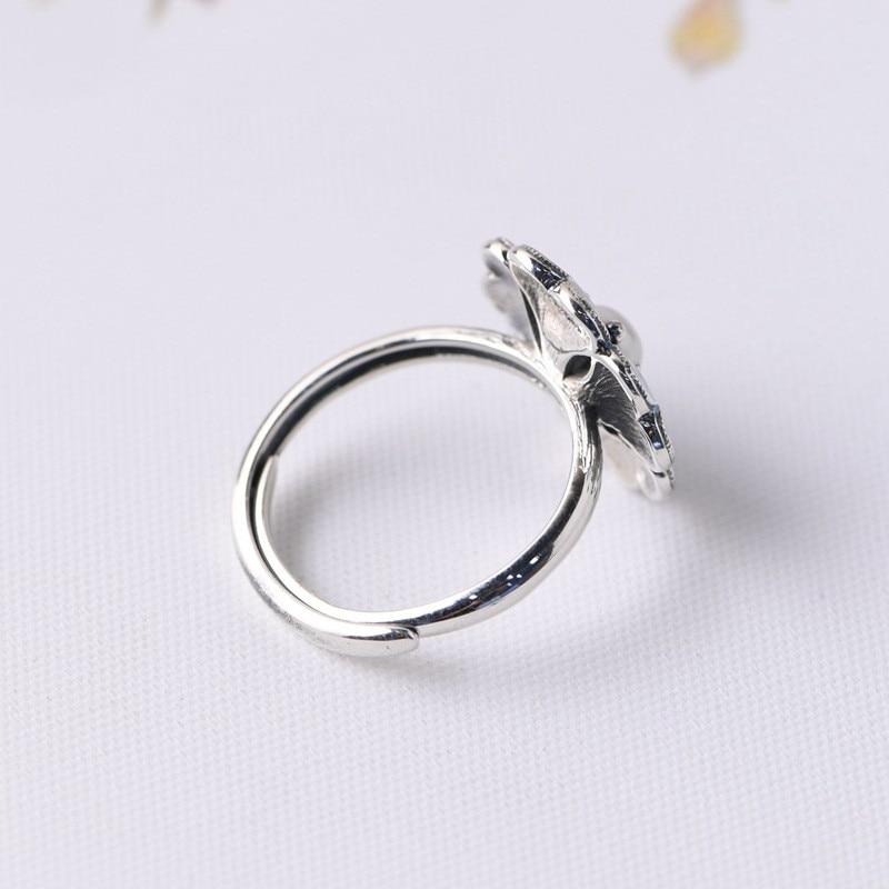 Image 5 - V.YA Lady Pearl Ring Freshwater Natural Pearl Rings 925 sterling silver Enameling Ring Women Wedding Birthday GiftEngagement Rings   -