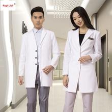 цена на Fashion hospital Nurse clothing custom logo long-sleeve beauty servic uniform wrinkle-free workwear nurse uniform-Ruyi Liuli