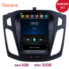 Seicane 9.7 inch Android 9.1 Car Stereo Radio Head Unit GPS Navi for Ford Focus 2012 2013 2014 2015 Support OBD2 Rearview Camera