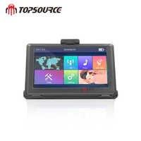 TOPSOURCE-navegador GPS con pantalla HD de 5