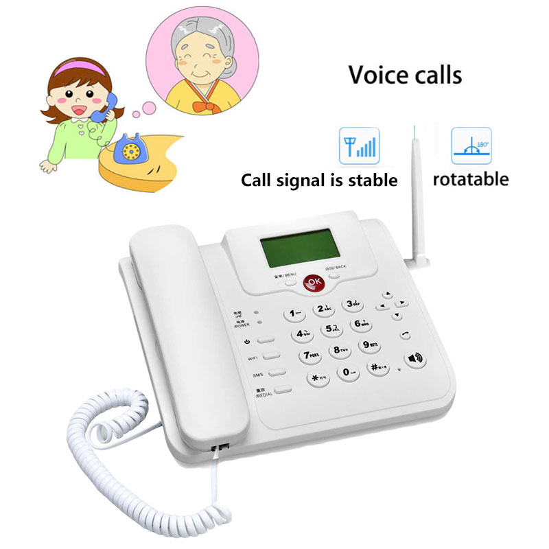 4g modem chamada de voz móvel hotspot