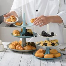 3 уровня фруктовых стенд закуска десертная тарелка стеллаж для