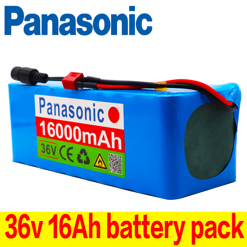 Panasonic Battery-Pack Ebike Electric-Bicycle BMS 10s4p 16ah 36v 18650 42V 16000mah 500W