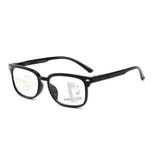 Image 2 - 高品質ユニセックス累進多焦点レンズ老眼鏡男性女性老眼遠視二焦点眼鏡 A010