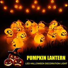 Halloween Pumpkin Lamp Hanging Lights Party Decor Decorative  TN88
