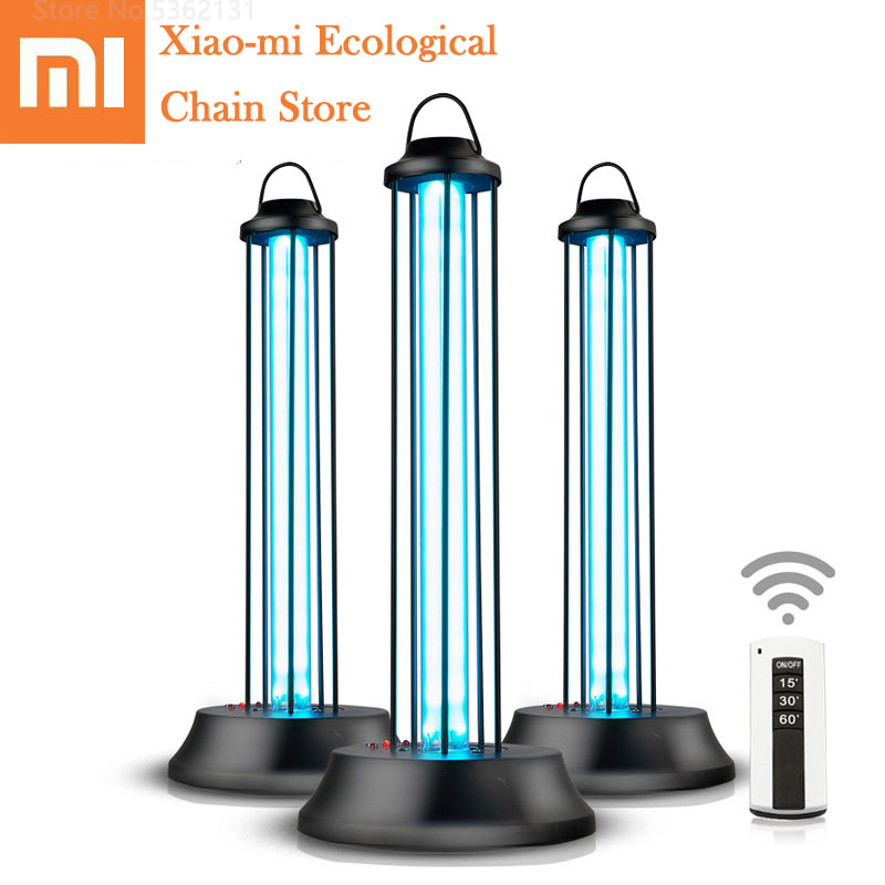 Xiaomi Germicidal UVC Ozone Disinfection Lamp Quartz Sterilizer Light For Disinfect Bacterial Kill Mites Sterilization Deodorize