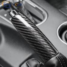 Carbon Fiber Hand Brake Cover For Ford Mustang 2015-2019 Car