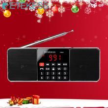 RETEKESS TR602 الرقمية المحمولة AM FM راديو سمّاعات بلوتوث AUX ستيريو MP3 لاعب TF/SD بطاقة النوم الموقت محرك أقراص USB LED العرض