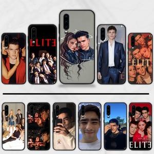 Spanish TV series Elite Black Cell Phone Case For Huawei Honor view 7a5.45inch 7c5.7inch 8x 8a 8c 9 9x 10 20 10i 20i lite pro