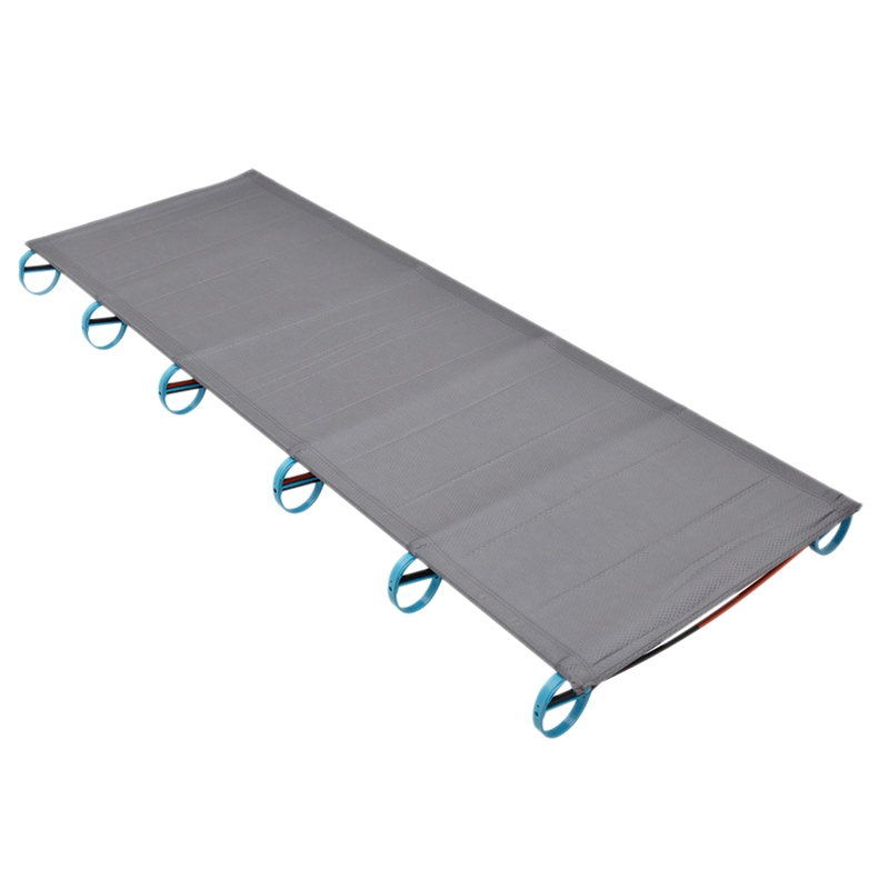 Portable Ultralight Folding Single Camp Bed Travel Cot Tent Bed Aluminium Alloy Metal Frame Outdoor Camping Hiking Fishing Beds