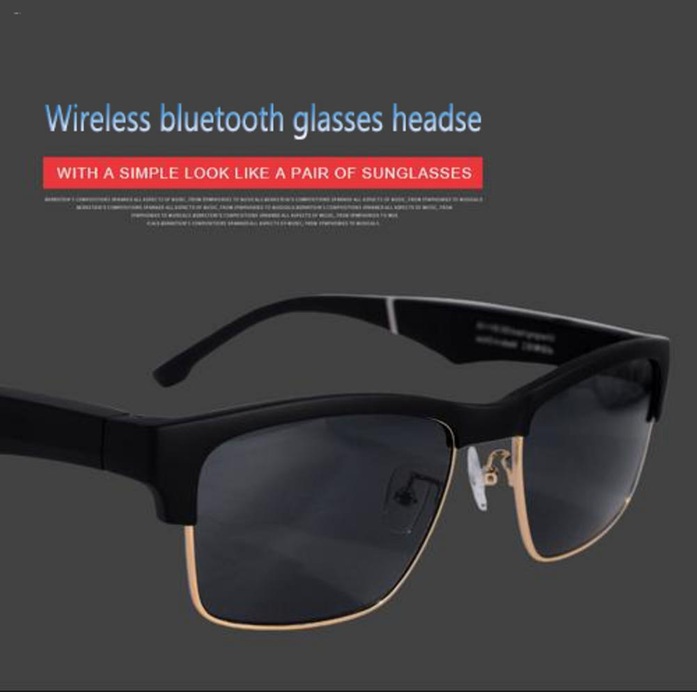 Novelty Smart Headphones K2 Smart Bluetooth Glasses Wireless Sport Headset With Microphone Anti-Blue Sunglasses