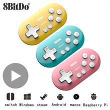 8bitdo Mini Bluetooth Gamepad Joypad Joystick For Nintend Nintendo Switch Phone iPhone Android PC Control Game Pad VR Controller