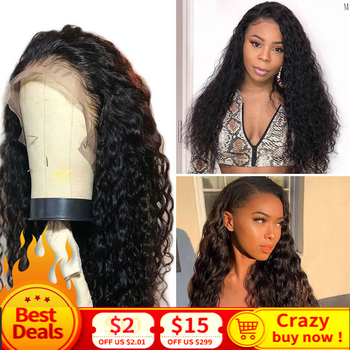 Brazilian Water Wave Wig 13*4 Lace Front Human Hair Wigs Pre Plucked Natural Hairline 150% Remy Hair Wig MIHAIR Lace Frontal Wig peruvian water wave lace front human hair wigs lace frontal wigs 13x4 pre plucked natural hairline 150