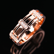 Luxury Hermetic Caduceus Rings Gold Plated Snake Wings Ring For Men Women Gothic Punk