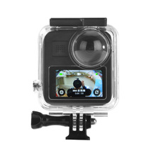цена на 45M Gopro Hero Max Waterproof Housing Case Diving Protective Housing Shell for Gopro Hero Max  Camera Accessories
