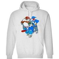 LOONEY TUNES 90's RAP HIP HOP Bugs Bunny TAZ sylvester Cartoon Mens Neutral () Winter Hoodies Sweatshirts Free Shipping