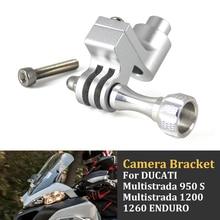 Driving-Recorder Bracket Bikegp Motorcycle for Gopro Camera DUCATI S 1200-1260 950 Multistrada