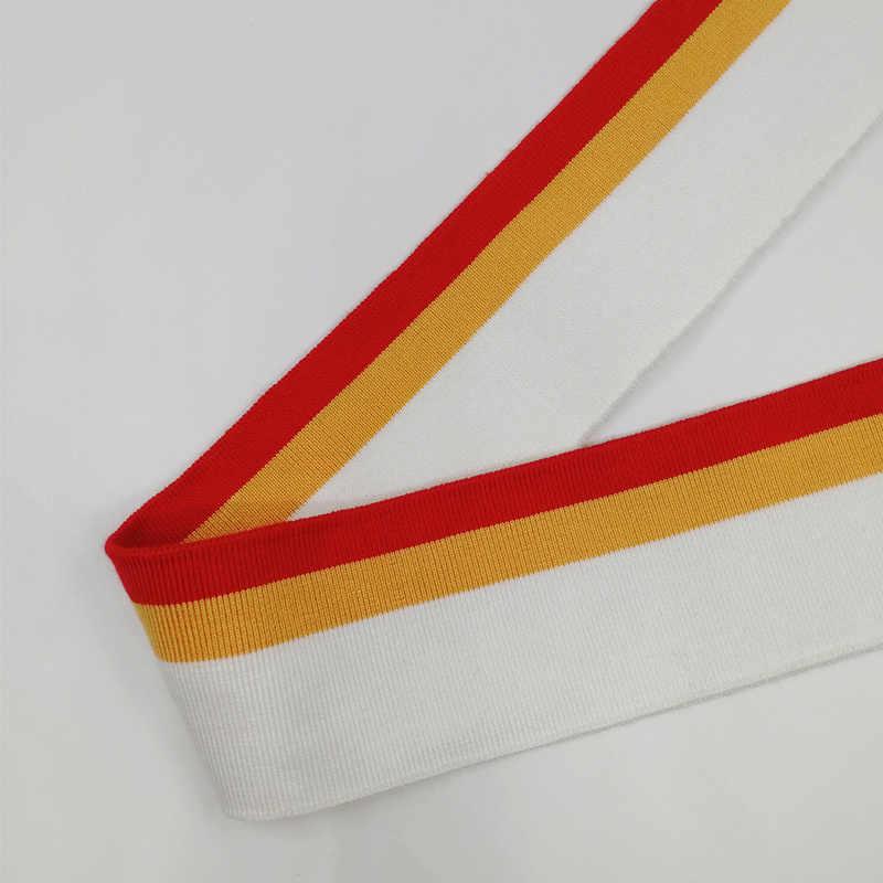 JIETAI merserize pamuk yumuşak Set örme şerit ribana kumaş DIY bez aksesuarları yaka manşetleri Hem alt yaka beraberlik dokuma