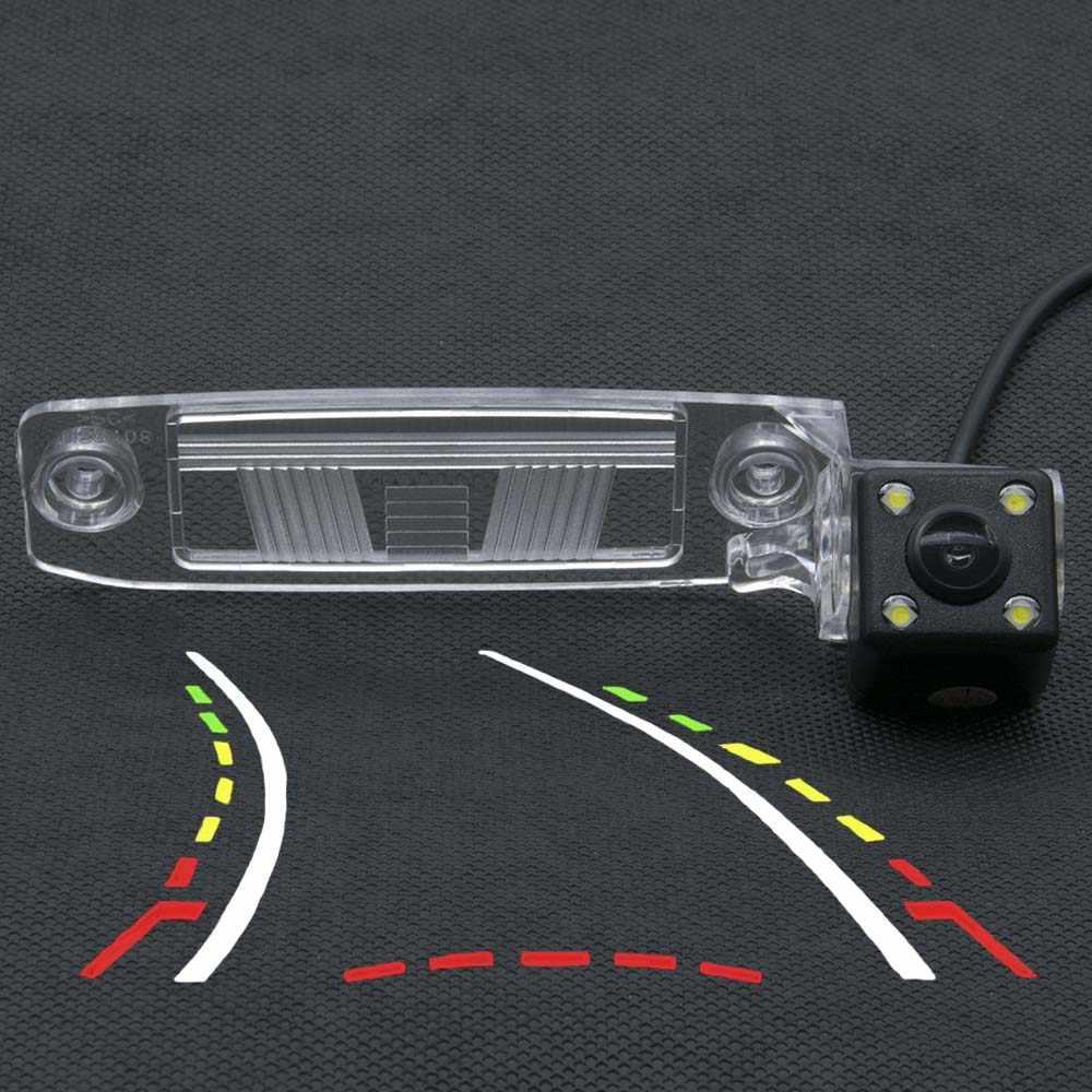Автомобильная камера заднего вида с динамической траекторией для Kia Sportage SL Sportage R 2011 2012 2013 2014 Kia K3 2012 Камера заднего вида