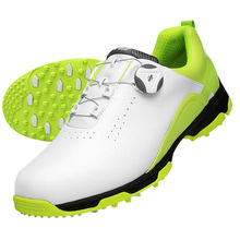 Sneakers Golf-Sports-Shoes Casual-Shoes Shoe-Spikes Chaussures-De-Golf Waterproof Breathable