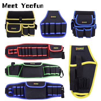 Multifunction Oxford Cloth Folding Wrench Tool Bag Roll Storage Pocket Tools Pouch Portable Case Organizer Holder