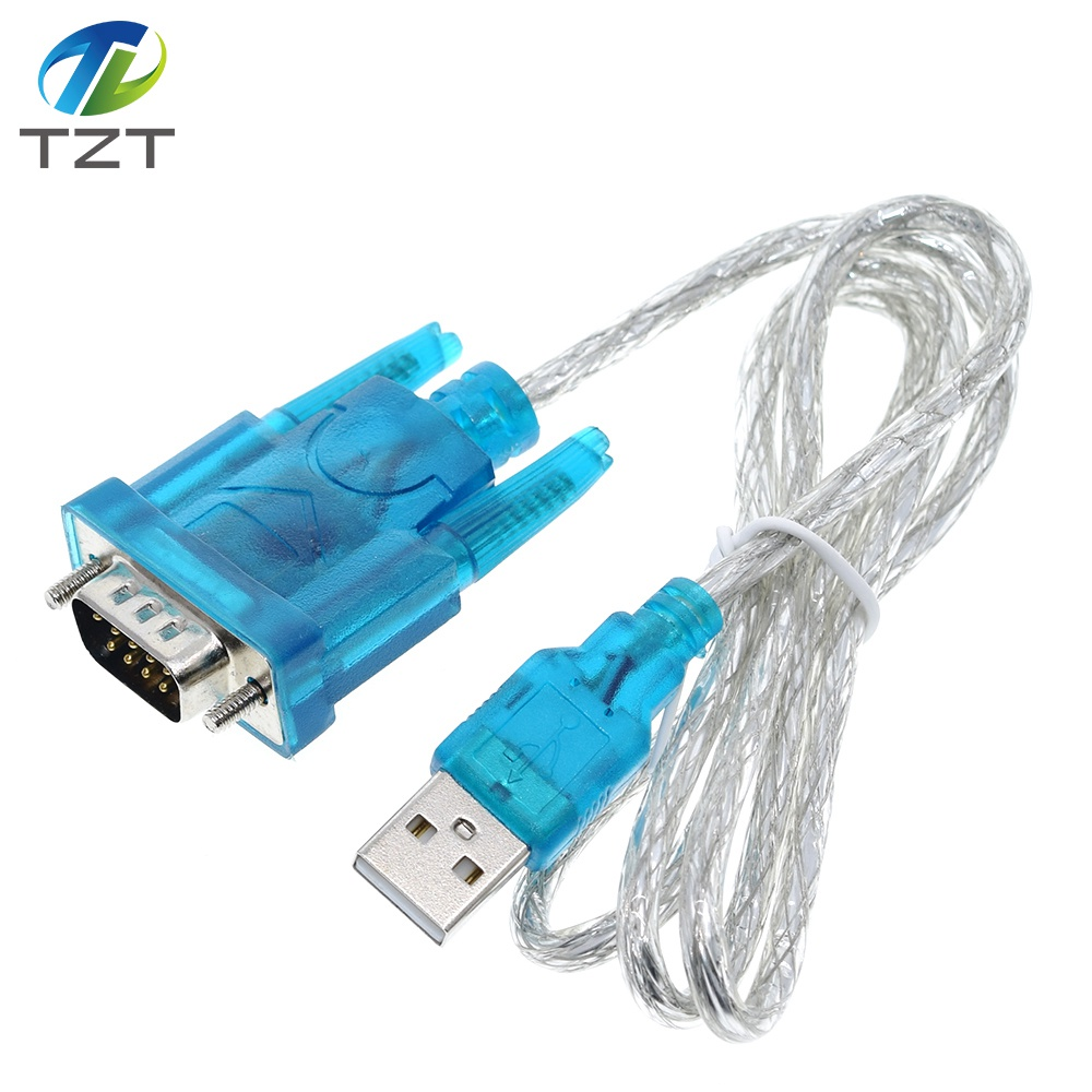 USB 2.0 to DB9 Male RS232 Connector Module Adapter Cable Windows Win7