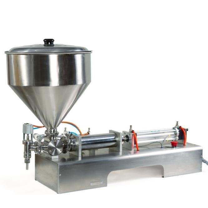 100-200 グラム半自動ピストンペースト充填機、液体瓶詰め高品質