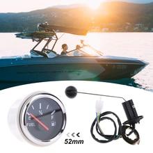 1 компл. 12 в автомобильный лодочный измеритель уровня топлива датчик уровня топлива Отправитель Блок Комплект Универсальный для авто лодки RV ATV Quad и т. д. 2 дюйма/52 мм IP67