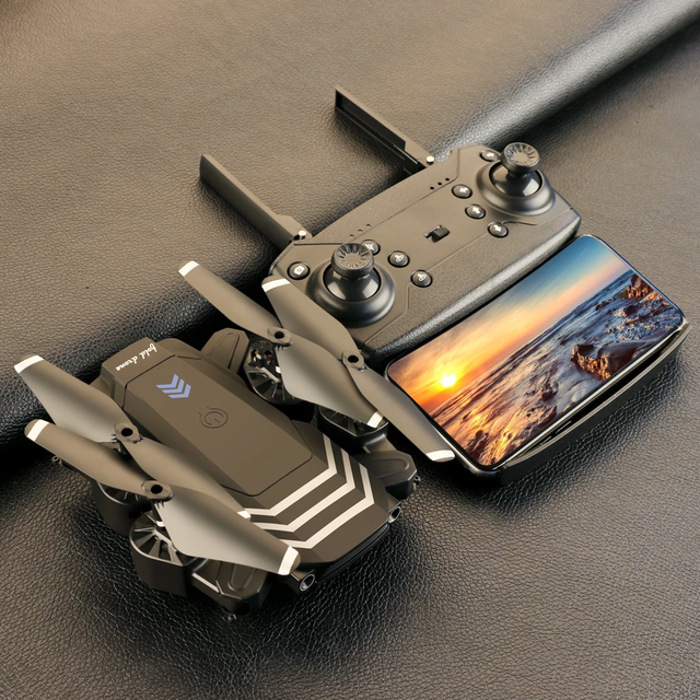 2021 novo rc drone ls11pro wifi fpv com 4k hd câmera hight hold modo um retorno chave dobrável braço quadcopter zangão para o presente 1