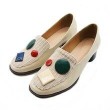 Новый роскошный женская обувь дизайнеры scarpe Донна итальянский классический удобную Фам