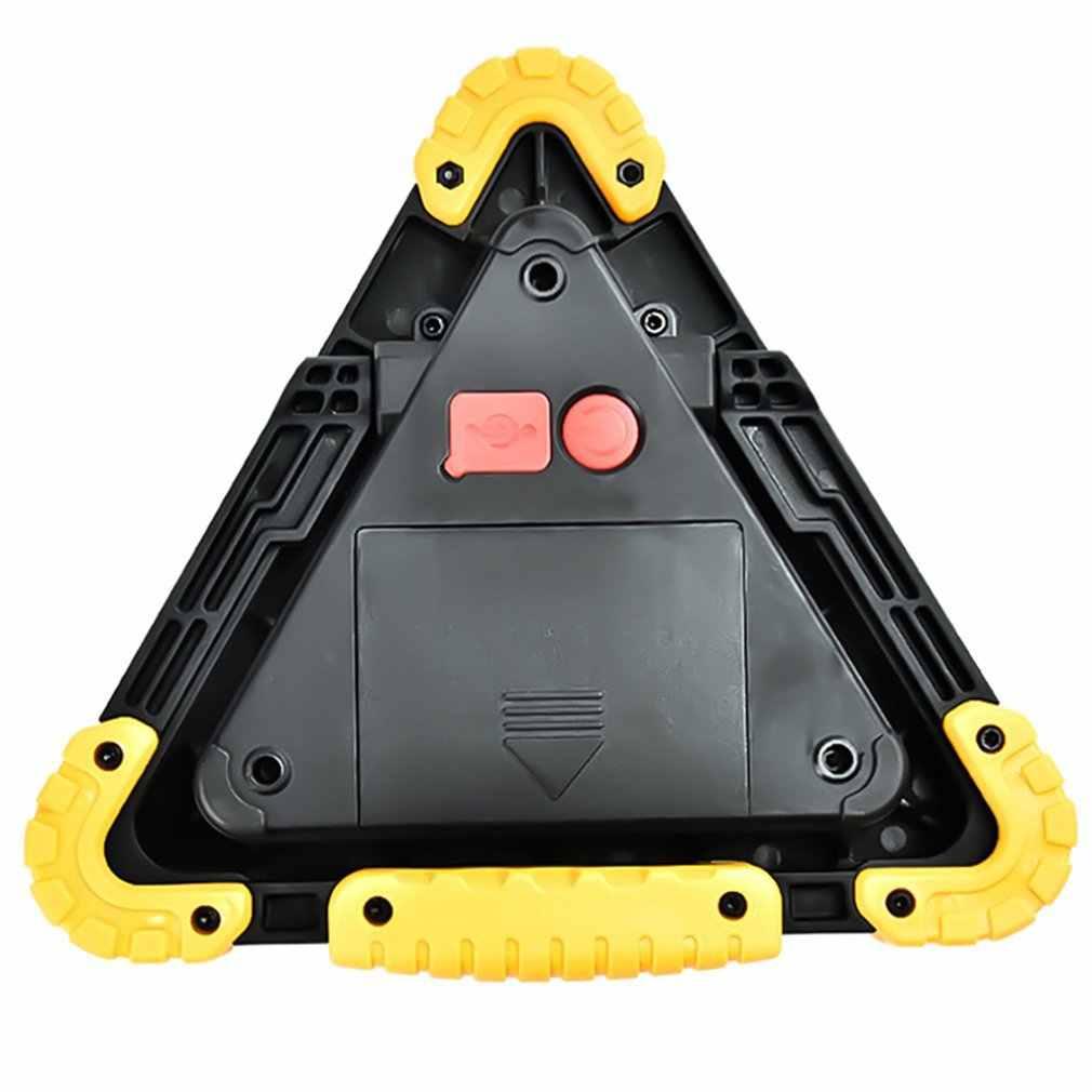 พับ Windproof ความปลอดภัยคำเตือนเครื่องหมายสามเหลี่ยมสำหรับอุบัติเหตุจราจรรถเสียขาตั้งกล้องอันตราย Fault ป้ายหยุด