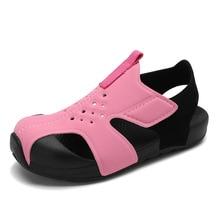 Children Airplane Shoes Summer Non-slip Girls Boys 2021 Fashion Sandals Leather Outdoor Children's Beach Shoes Baby Sandals