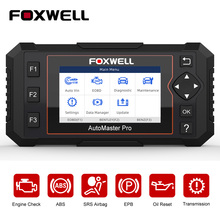FOXWELL NT614 Elite OBD2 Automotive Scanner Engine Check ABS Airbag Transmission Oil EPB Reset ODB2 OBDII Car Diagnostic Tool