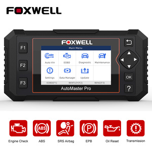 Image 1 - FOXWELL NT614 Elite OBD2 Automotive Scanner Engine Check ABS Airbag Transmission Oil EPB Reset ODB2 OBDII Car Diagnostic Tool
