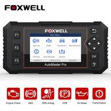 FOXWELL escáner automotriz NT614 Elite OBD2, control de motor, transmisión de Airbag ABS, aceite EPB, reinicio ODB2 OBDII, herramienta de diagnóstico de coche