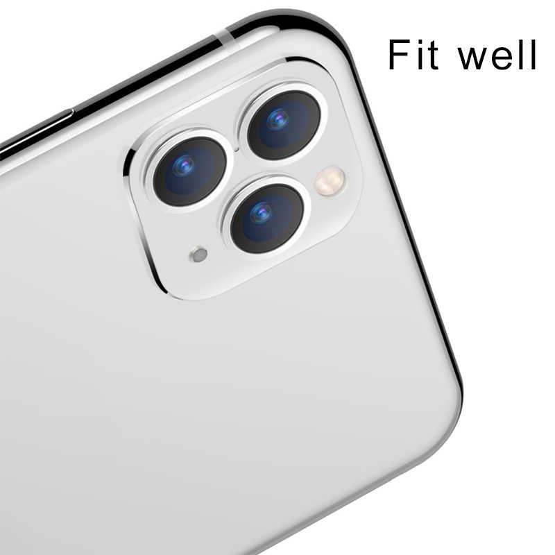 Sửa Đổi Camera Len Bao Coque Hợp Kim Titan Dành Cho iPhone Apple X XS Max Giây Thay Đổi Cho Iphone 11 Pro max Ống Kính Miếng Dán