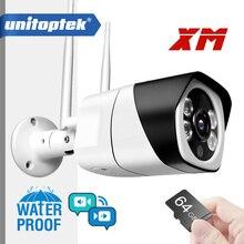 Câmera ip sem fio hd 1080p 5mp onvif, áudio bidirecional, wi fi, à prova d água, cartão slot tf, câmeras de bala p2p aplicativo icsee