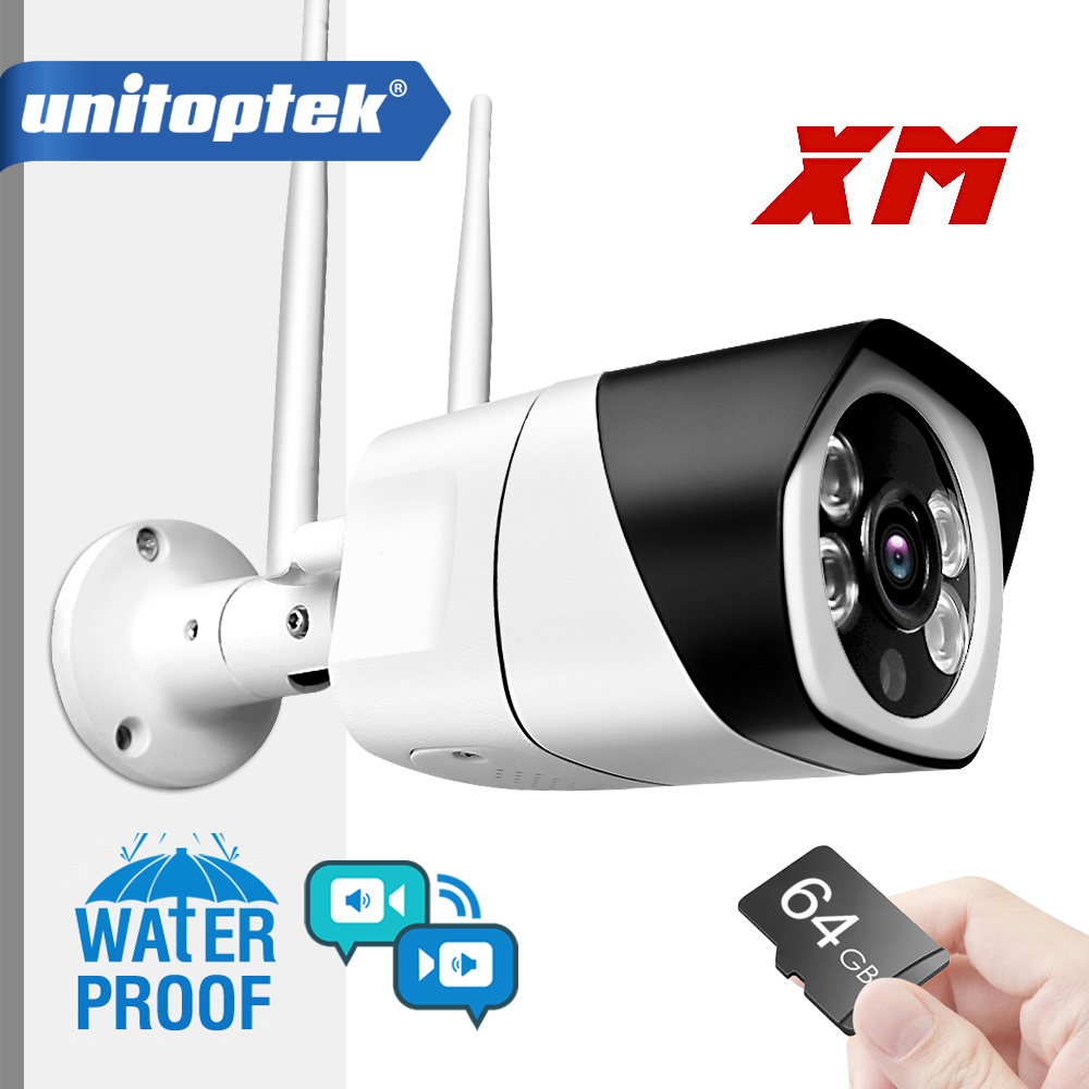 HD 1080P 5MP Wireless IP Camera ONVIF Two Way Audio WIFI Camera Outdoor Waterproof TF Card Slot Bullet Cameras P2P APP ICsee