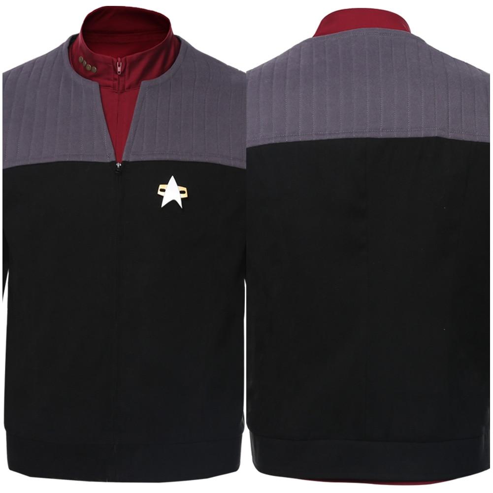 Быстрая доставка Star косплей Trek костюм Picard для женщин мужчин Осенне-зимняя одежда мужская куртка пальто для Хеллоуина, карнавала, рождества ...