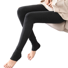 Warm Fleece Lined  Super Thick Warm Leggings for Women Winter Spandex Thermal Slim Pattern Leggins