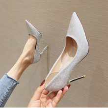 Womens Shoes 2019 High Heels Bling Sexy Korean Fashion Pumps Elegant Shoes Party new womens shoes pumps super high heels woman wedding party dress shoes ladies fashion elegant sexy classic italian high quality