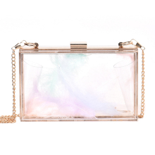 MONNET CAUTHY New Arrival Fashion Female Bags Creative Personality Transparent Elegant Crossbody Bag Chic Style Girls Party Flap