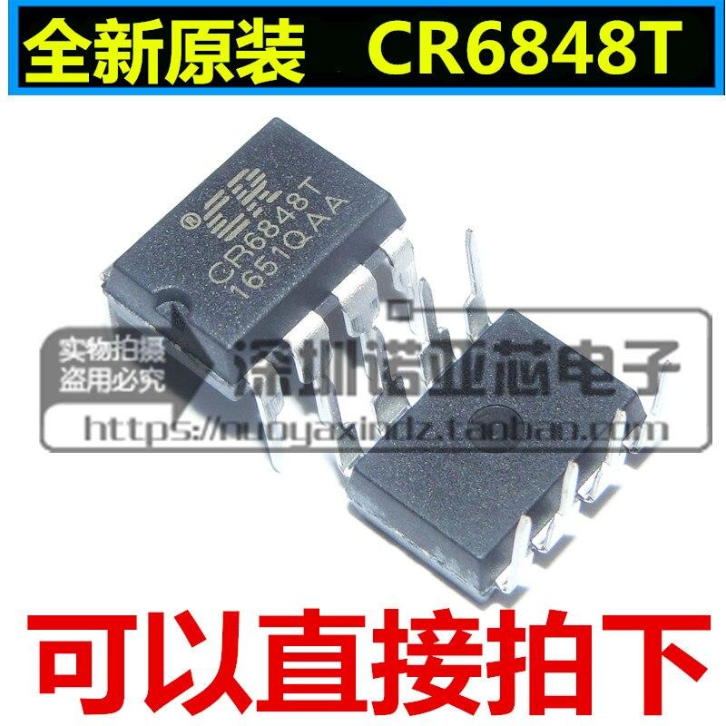 10pcs/lot Brand New Original CR6848T DIP-8 Offline Switching Power Supply Chip CR6848