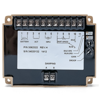 FUNN-3062322 Generator Speed Controller Speed Stabilizer Electric Governor Engine Control Circuit Board Module Genset Part